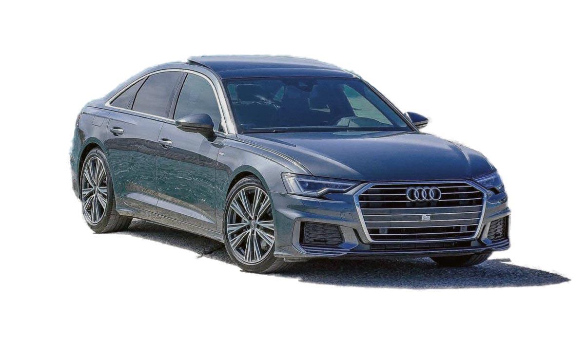 Audi A6 - сопровождение высоких людей